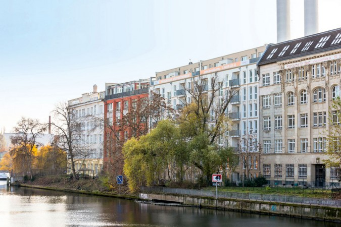 BE MITTE am Ufer der Spree © PROJECT Immobilien Wohnen AG