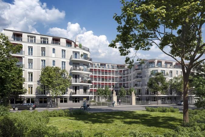 ENTREE • Neue Stadtwohnungen neben dem Prenzlberg © Strategis AG