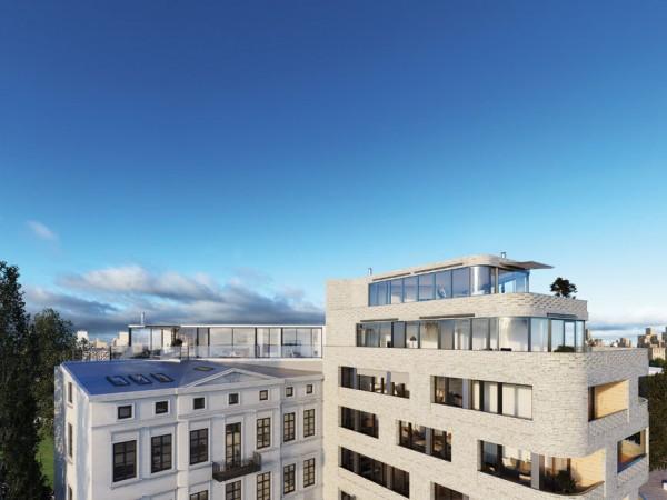 Spannende Ausblicke über die Südliche Friedrichstadt aus dem Penthouse von NeuHouse © David Borck Immobiliengesellschaft mbH