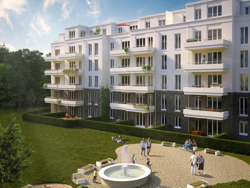 Brunnen-Viertel-Potsdam_Visualisierung Brunnen Viertel in Potsdam