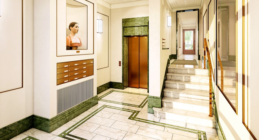 Eingangsbereich • Am Hochmeisterplatz © Ziegert Bank- und Immobilienconsulting GmbH