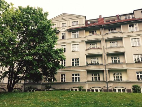 Die Häuser der Freiastraße von 1907 stehen unter Denkmalschutz. © S.Weckeßer