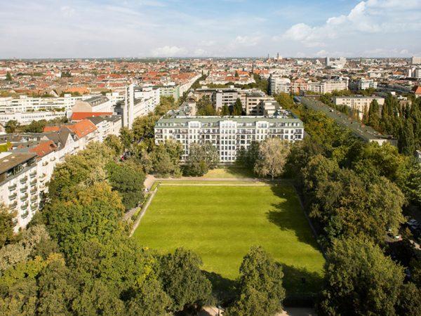 Klassizistisch-repräsentative Architektur • Am Hochmeisterplatz © Ziegert Bank- und Immobilienconsulting GmbH