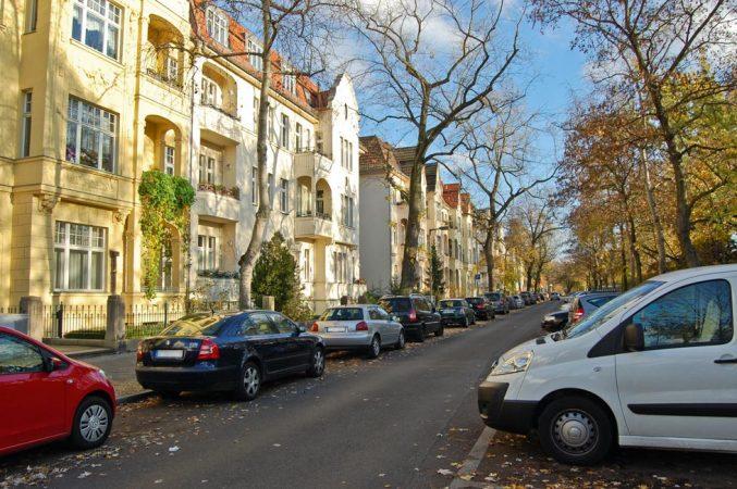 Wohnstraße in Lichtenberg-Karlshorst © N. Bettac