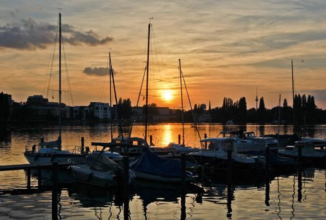"""""""Impressions sunset - Rummelburger Bucht"""" von Angela Marie Henriette CC BY-ND 2.0"""