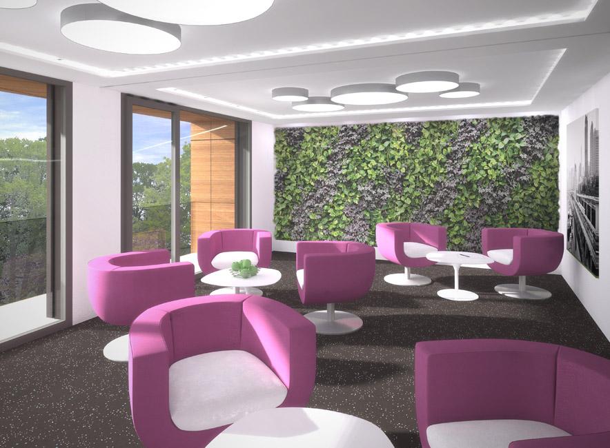 Lounge-Campus-Filmpark-Babelsberg-KW-Development Baustart für das Pentagon in Potsdam