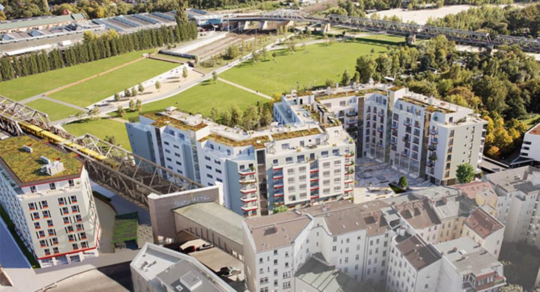 Wohnpanorama-Luftbild