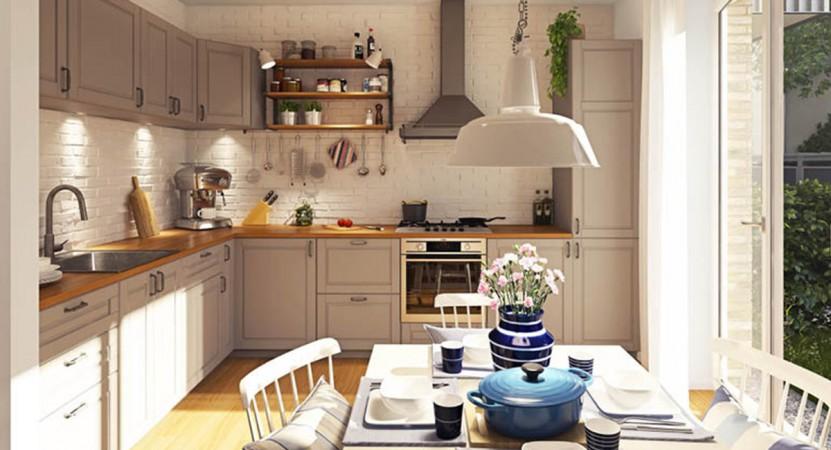 Das Herz jeder Wohnung: Der offene Wohn- Essbereich © Ziegert Bank- und Immobilienconsulting GmbH