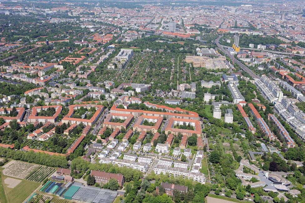 Maximilians-Quartier_Luftbild_Groth Auftakt zum Baustart für das Maximilians Quartier in Schmargendorf