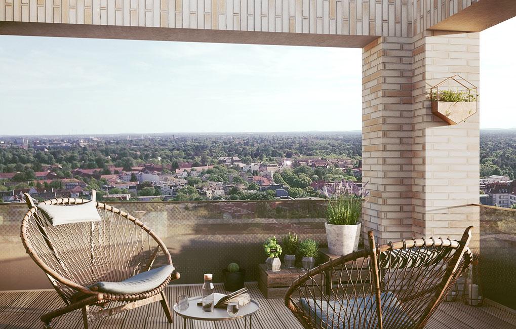 Maximilians-Quartier_Terrasse_Groth Auftakt zum Baustart für das Maximilians Quartier in Schmargendorf