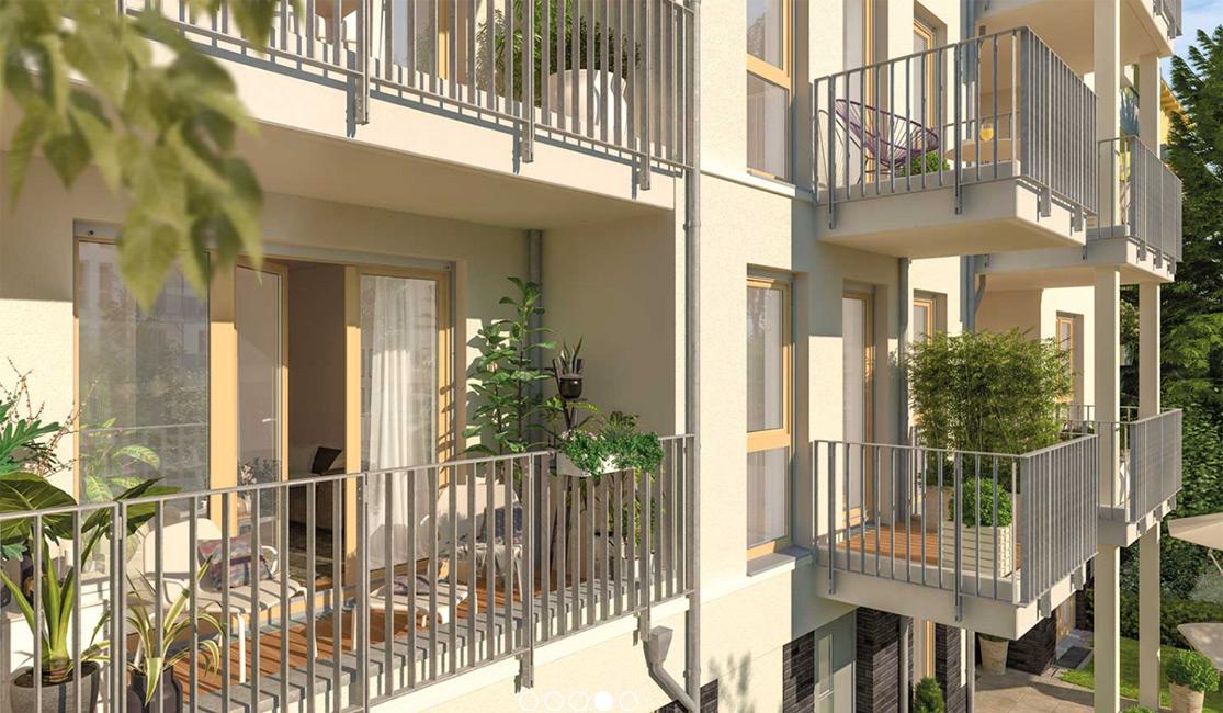 NBP Lebensart Spandau Balkon