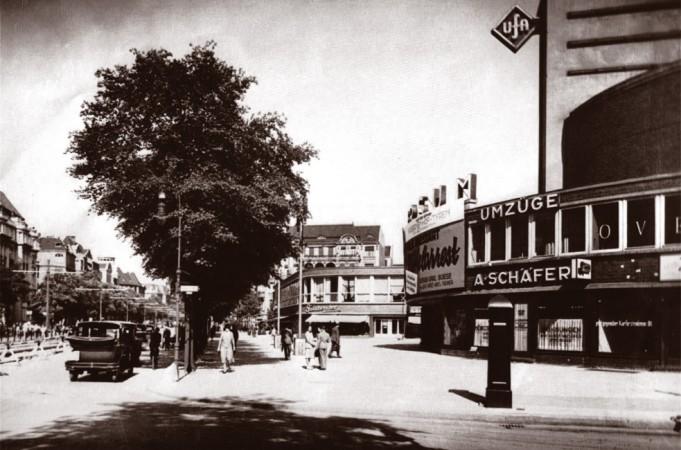 Das Kino Universum wurde als Präsentationsrahmen für die neuen Tonfilme der Ufa gebaut. © Schaubühne Berlin, 1932