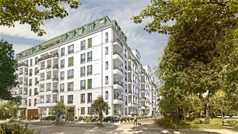 Mit dem Projekt AM HOCHMEISTETPLATZ wird die Tradition des luxuriösen Berliner Stadthauses neu aufgenommen. © ZIEGERT – Bank- und Immobilienconsulting GmbH