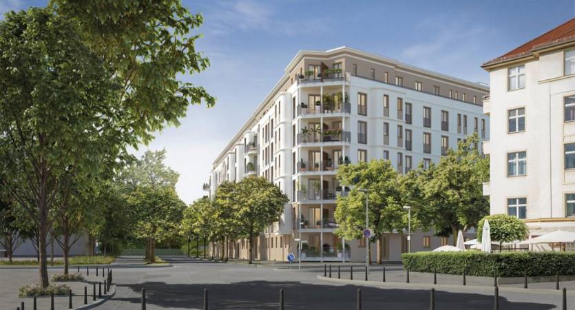 Eine bei Neu- und Alt-Berlinern gleichermaßen beliebte Wohnlage. @ Project Immobilien Wohnen AG