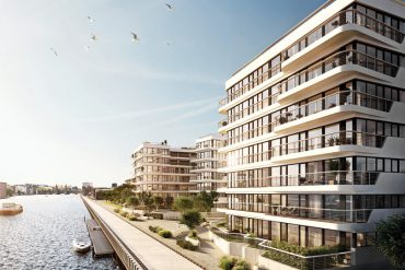WAVE Waterside living © Bauwerk Capital GmbH & Co. KG