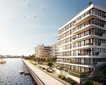 WAVE Waterside living © Bauwerk Capital GmbH & Co. KG