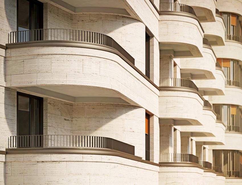 UPSIDE-BERLIN-Detail_Balkon UPSIDE BERLIN: Wohntürme Max und Moritz wachsen demnächst rasant