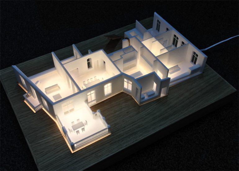 architekturmodelle im 3d druck exklusiv immobilien in berlin. Black Bedroom Furniture Sets. Home Design Ideas