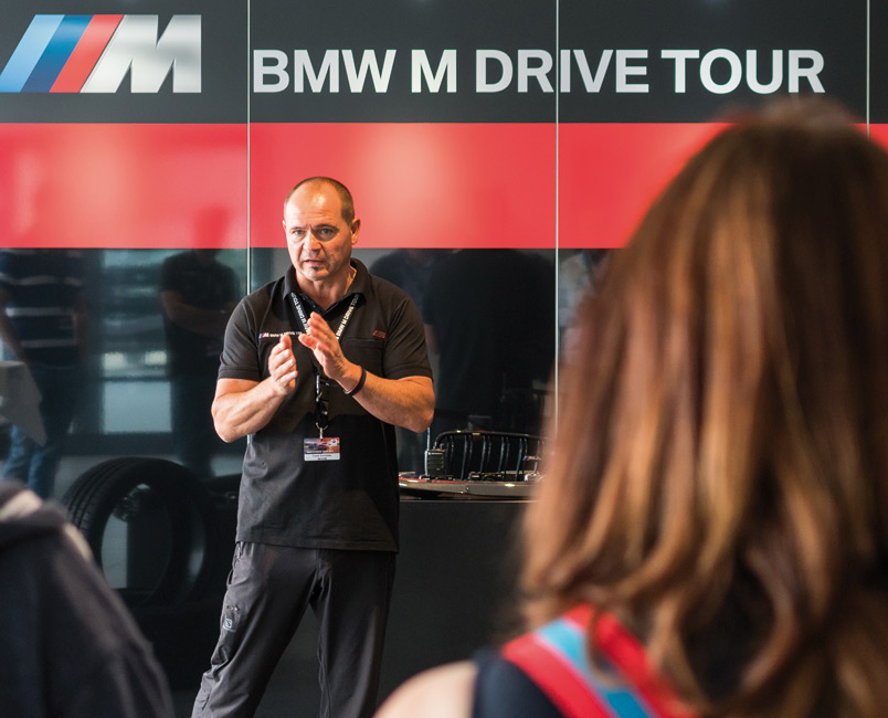 BMW-Nefzger-Drive-Tour-2017-Einweisung Optik und Fahrspaß
