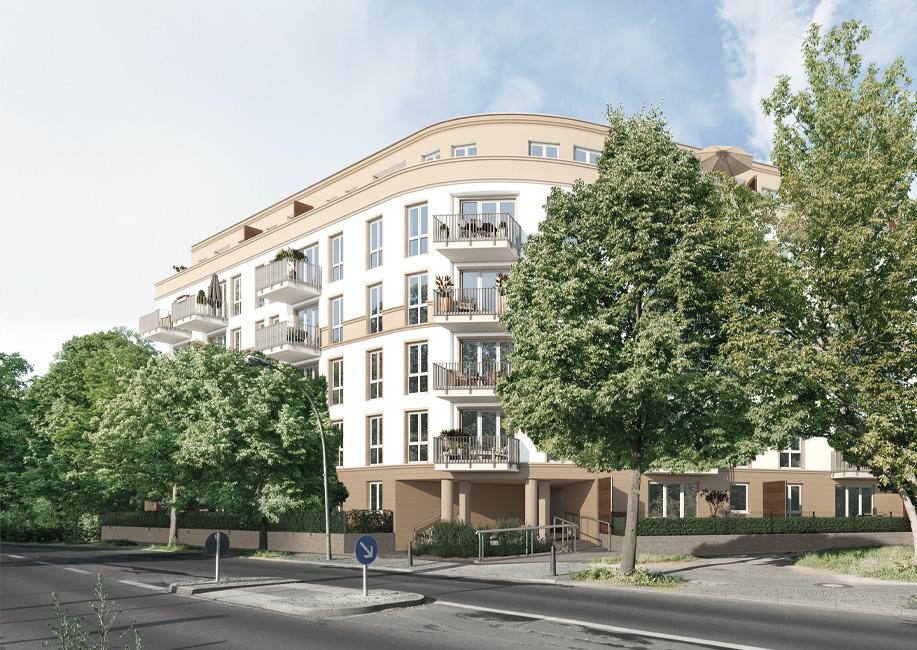 """Mit """"MEIN PANKOW"""" entsteht ein energieeffizientes Neubauensemble mit 73 Eigentumswohnungen in Berlin-Pankow. © Project Immobilien und Wohnen AG"""