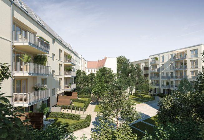 Lebensart Spandau im Fehrbelliner Kiez © Project Immobilien Wohnen AG