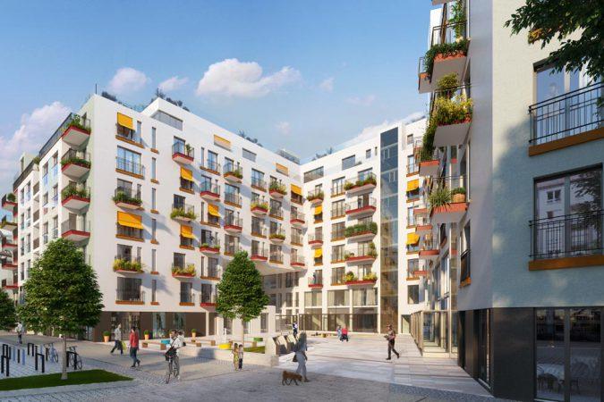 Wohnpanorama am Gleisdreieck, Außenansicht © Ziegert – Bank- und Immobilienconsulting GmbH