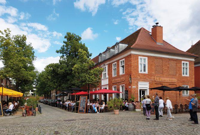 Im Holländischen Viertel lässt es sich herrlich flanieren.  © M. Hermann
