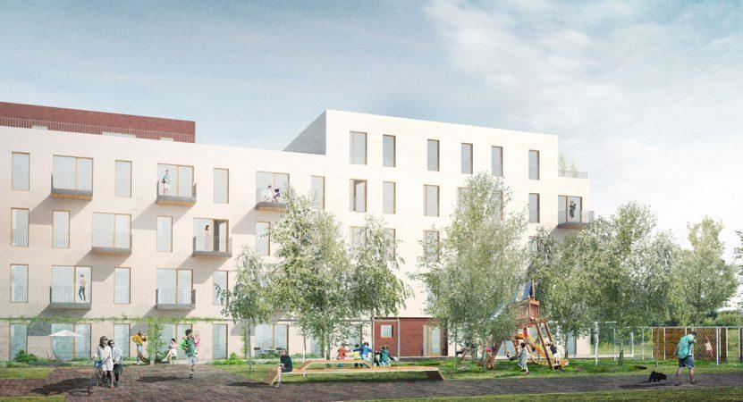 Quartier Wir Hoffassade © UTB Projektmanagement GmbH
