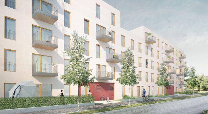 Quartier Wir Strassenperspektive © UTB Projektmanagement GmbH