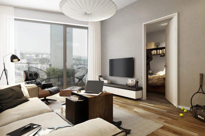 Wohnungen ab 27 qm – SmartOne © BUWOG Group