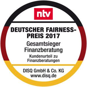 FP-Gesamtsieger-Finanzberatung-2017 Dr. Klein Privatkunden AG