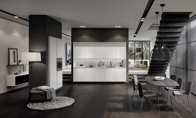Die PURE Collection interpretiert den modernen Stil. © 2018 SieMatic