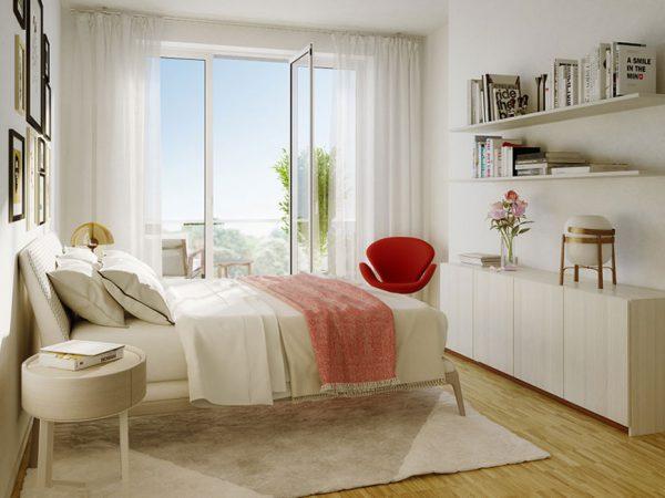 Am Schlosspark • Schlafzimmer © Ziegert - Bank- und Immobilienconsulting
