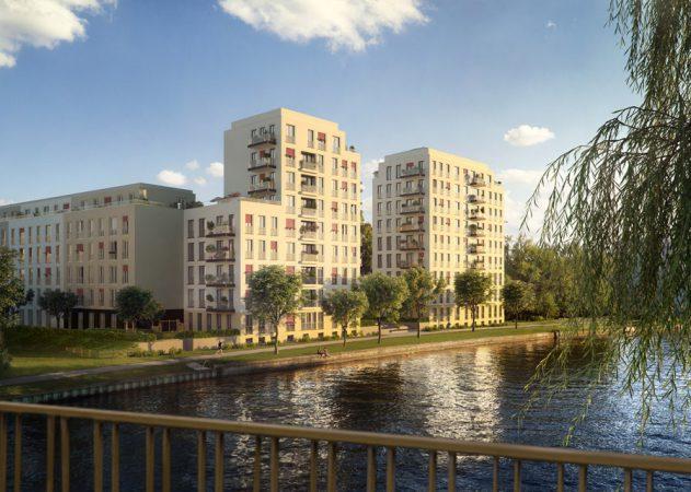 No.1 Charlottenburg – Bis Ende 2019 sollen die Wohnungen und Penthouses bezugsfertig sein. © ZIEGERT – Bank- und Immobilienconsulting GmbH