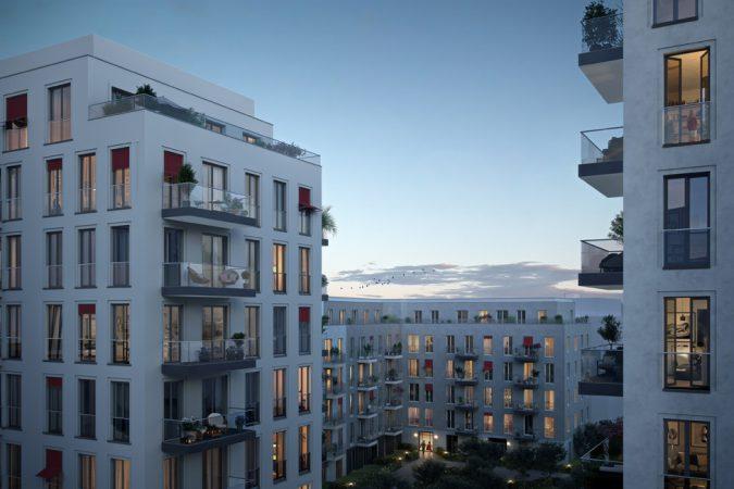 No.1 Charlottenburg Innenhof © ZIEGERT – Bank- und Immobilienconsulting GmbH