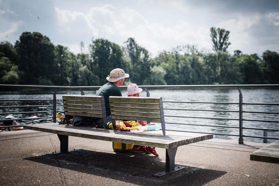 Nachmittags geht es mit den Kids an den Groß Glienicker See. © Bonava Deutschland GmbH