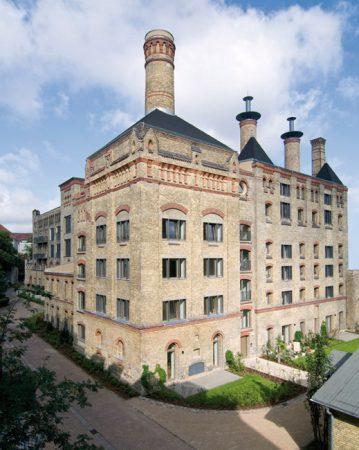 Alte Mälzerei: südliches Darrengebäude  Foto: Bernd Hiepe • Lizenz: CC BY-SA 3.0