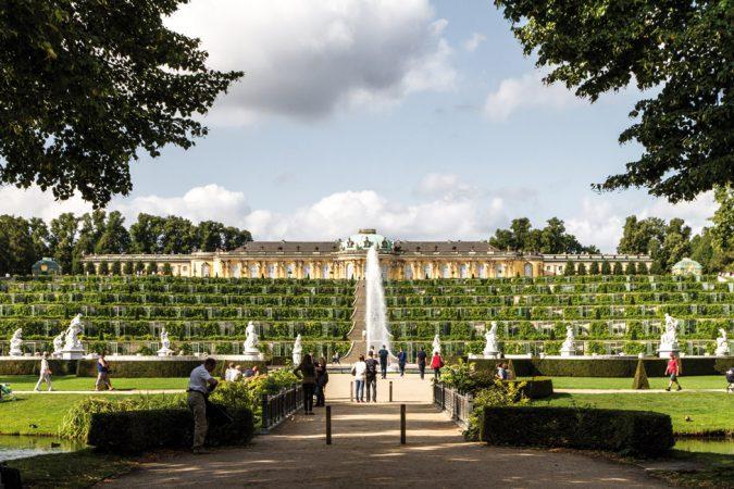 Schloss Sanssouci, Potsdam  Foto:  rey perezoso  Lizenz: CC BY-SA 2.0