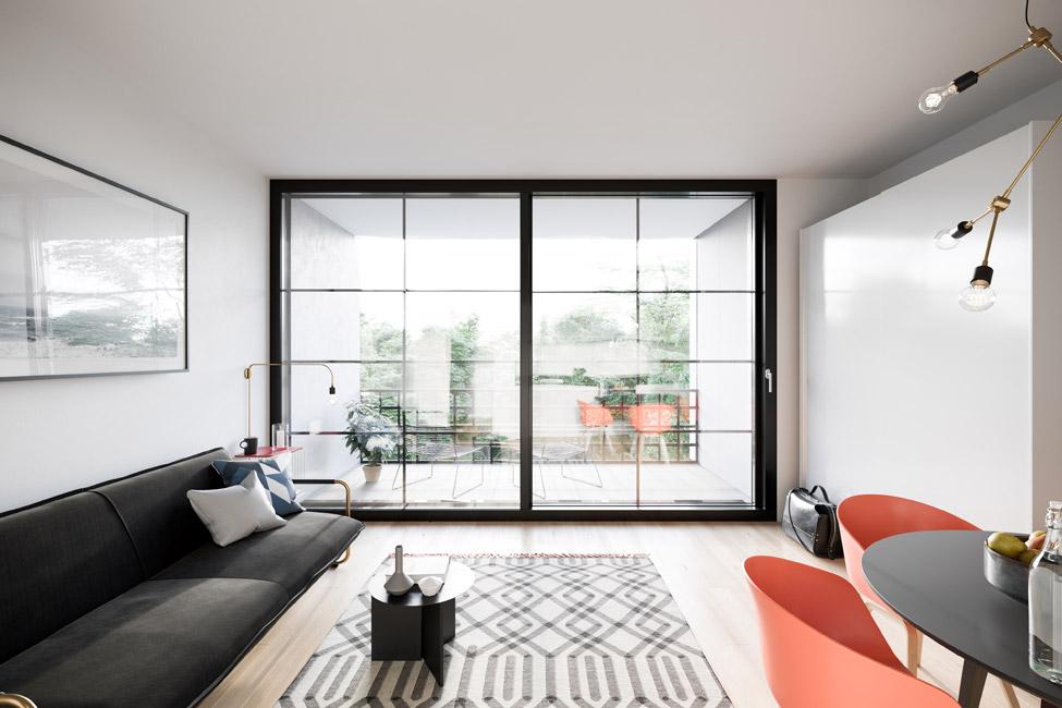 NANO_Klassik Vertriebsstart für 68 City Apartments im Neubauprojekt Nano
