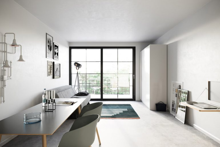 NANO Modern © David Borck Immobiliengesellschaft mbH
