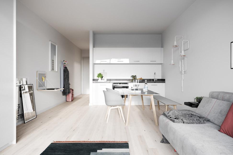 Nano_Natur Vertriebsstart für 68 City Apartments im Neubauprojekt Nano