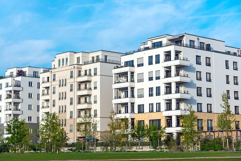 Neue Mehrfamilienhäuser in Berlin