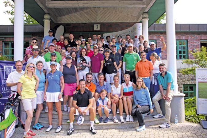 Golfen für den guten Zweck macht allen Spaß. © A-ROSA Scharmützelsee