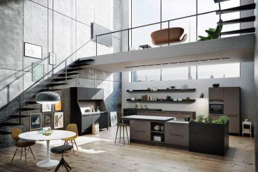 Die Küche als Eye-catcher: Klare Linien unterstreichen besondere Werte. SieMatic URBAN © CITY-KÜCHEN