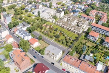 PROJECT Immobilien Parkquartier Altglienicke Vogelperspektive