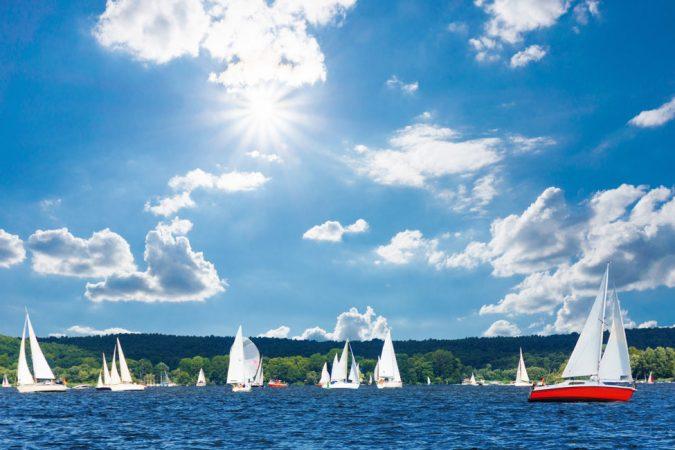 Der Große Wannsee gehört zu den schönsten und bekanntesten Orten im Bezirk Steglitz-Zehlendorf. © flyinger / Fotolia.com