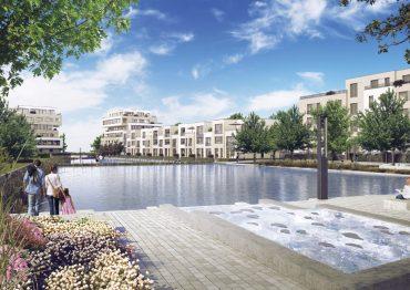 Die BUWOG Group realisiert Neubauprojekte in attraktiven Wasserlagen. 52° Nord – maritimes Wohnglück in Berlin-Grünau © BUWOG Group