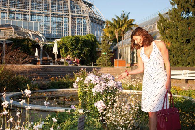 Im Botanischen Garten gibt es zu jeder Jahreszeit etwas zu entdecken. © PROJECT Immobilien Wohnen AG