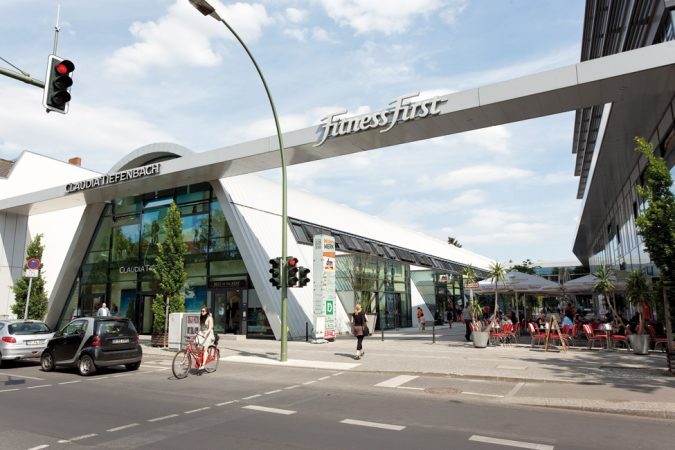 Shoppingcenter in Zehlendorf. © PROJECT Immobilien Wohnen AG