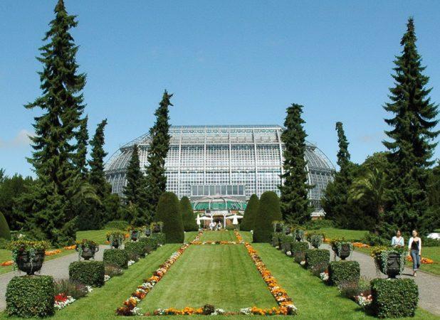 Der Botanische Garten – Großes Tropenhaus © I. Haas, Botanischer Garten und Botanisches Museum Berlin